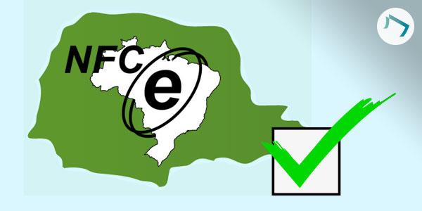 Obrigatoriedade de emissão de NFC-e no Paraná