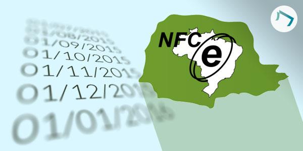 Prazo para implantação de NFC-e no Paraná