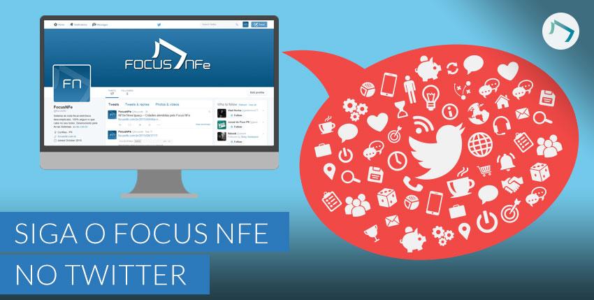Siga o Focus NFe pelo Twitter