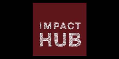 Logo da Impact Hub, um Cliente Focus NFe