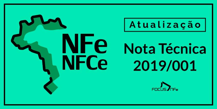 Nota Técnica 2019/001 – Conheça as novas validações