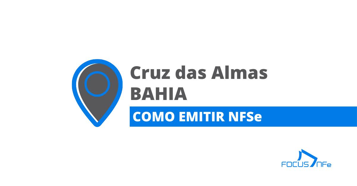 You are currently viewing Como emitir Nota Fiscal de Serviço (NFSe) em Cruz das Almas – BA – API Focus NFe