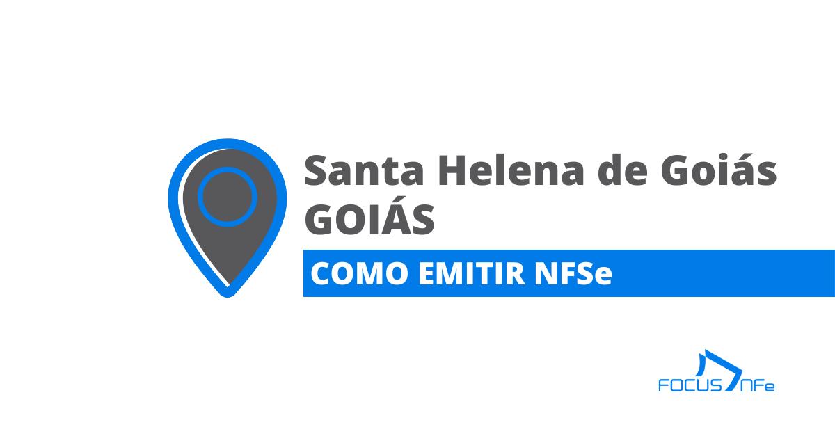 You are currently viewing Como emitir Nota Fiscal de Serviço (NFSe) em Santa Helena de Goiás – GO – API Focus NFe