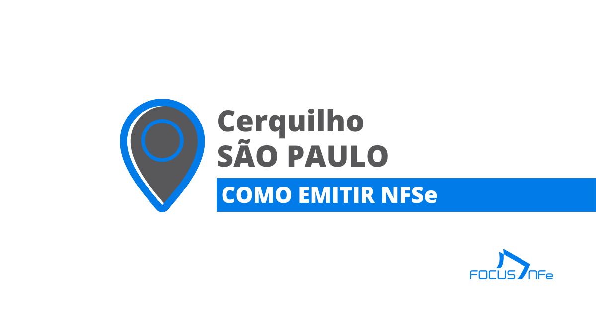 You are currently viewing Como emitir nota fiscal de serviço (NFSe) em Cerquilho – SP