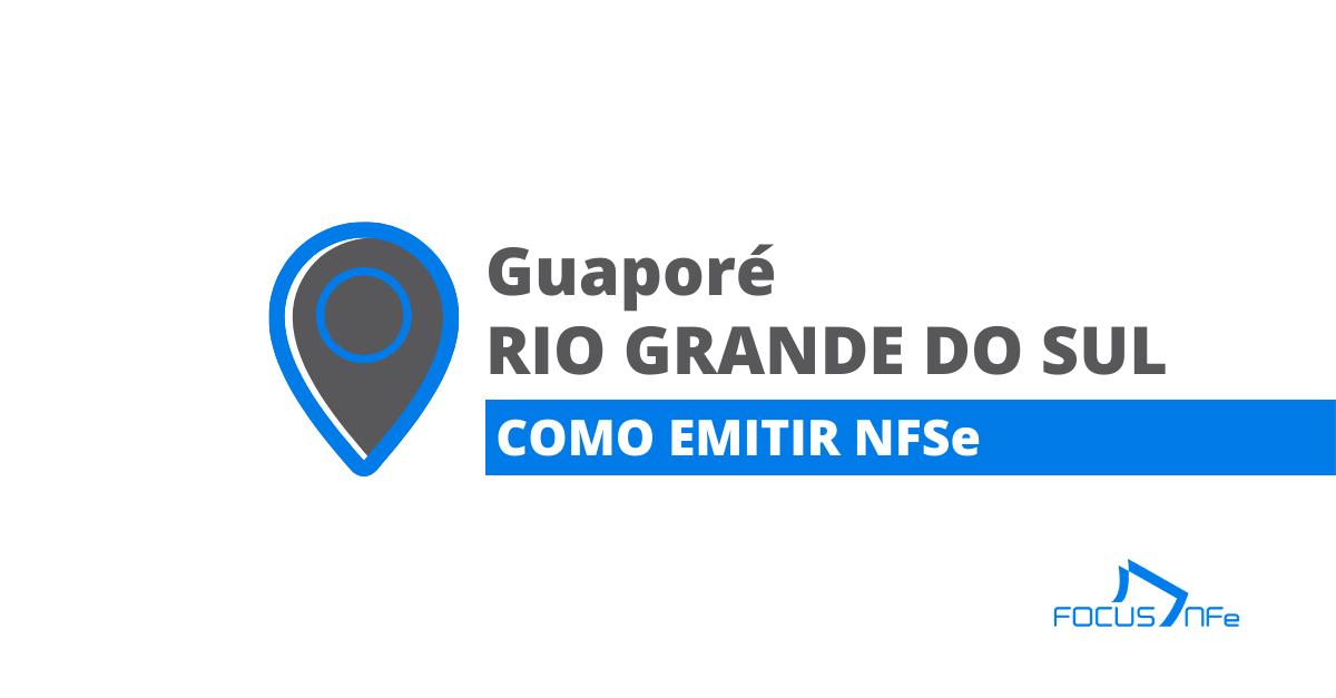 You are currently viewing Como emitir nota fiscal de serviço (NFSe) em Guaporé – RS