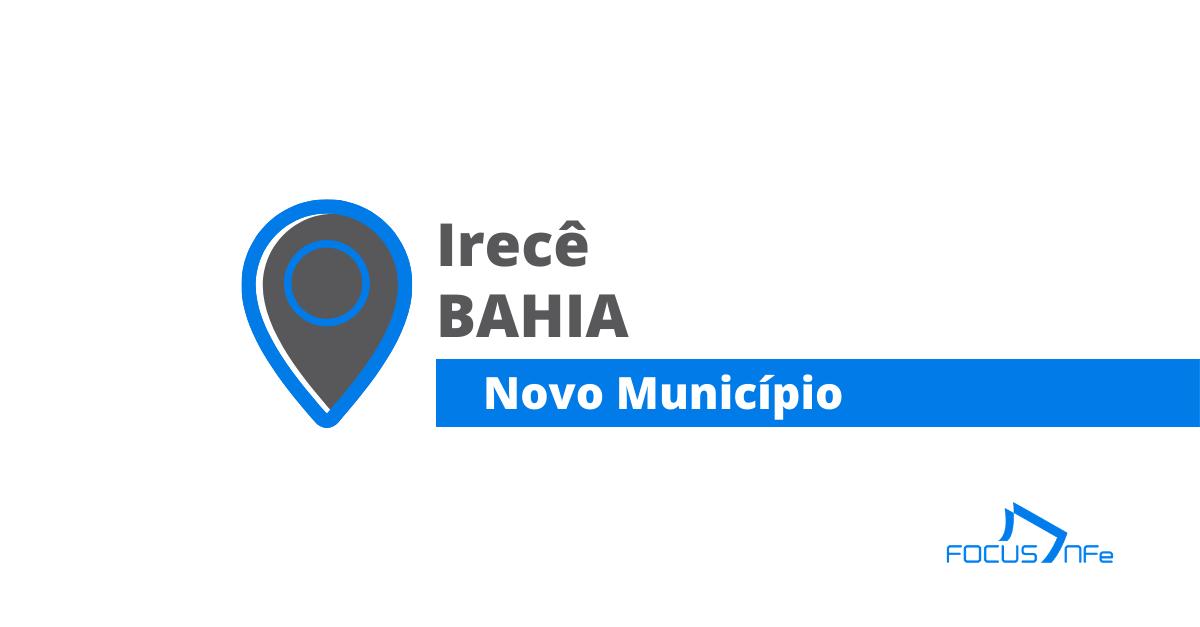 You are currently viewing Como emitir nota fiscal de serviço (NFSe) em Irecê – BA
