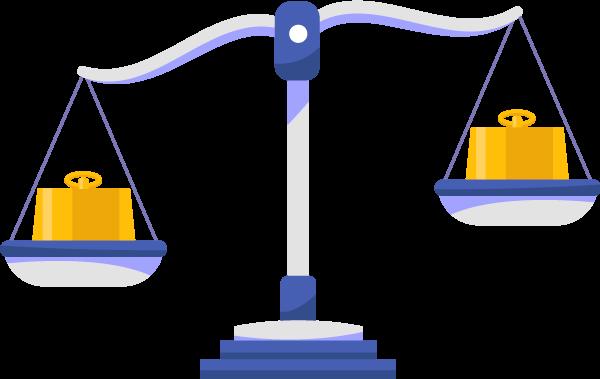 Icone de uma balança