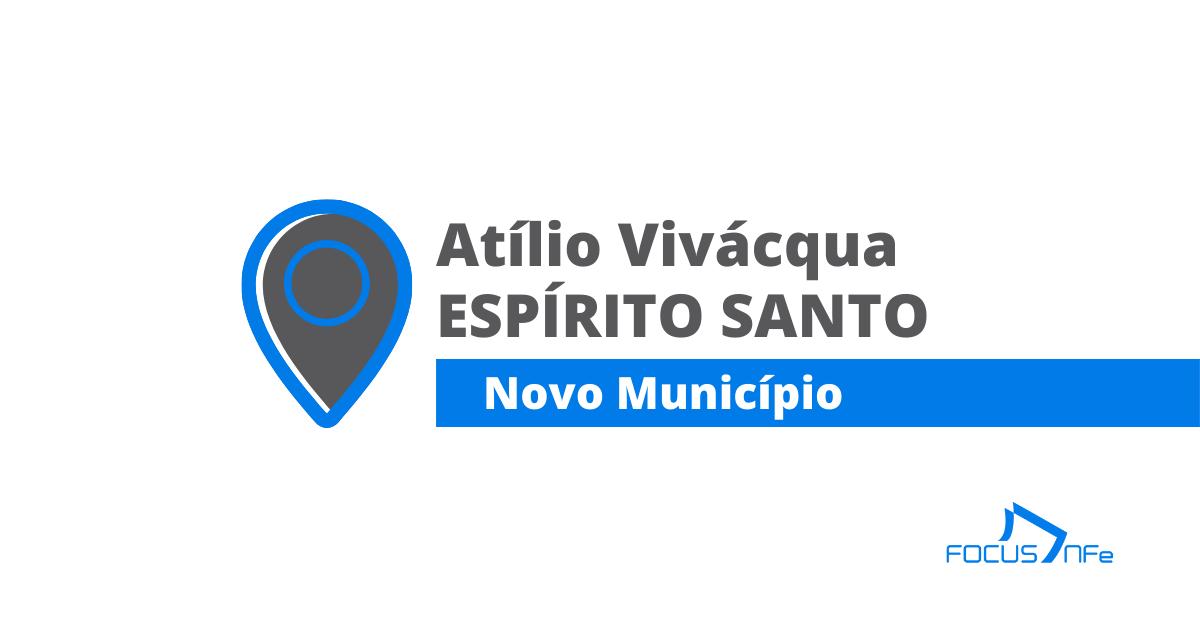 You are currently viewing Como emitir nota fiscal de serviço (NFSe) em Atílio Vivácqua – ES